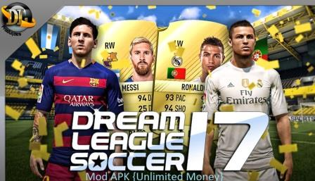 Dream League Soccer 2017 Mod APK Features