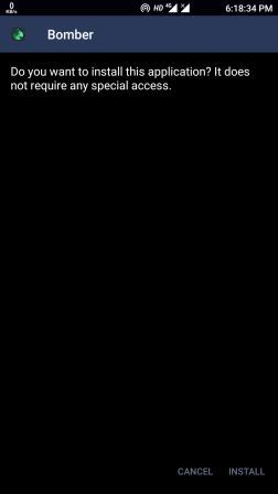 Install SMS Bomber APK