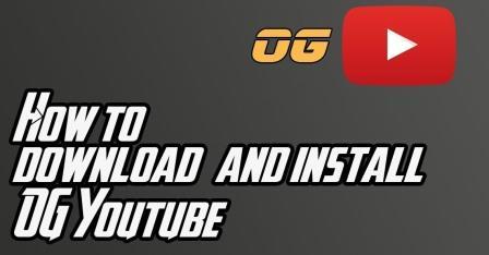 OGYoutube Install