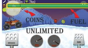 Hill Climb Racing Mod APK Features Unlimited Fuel Coins