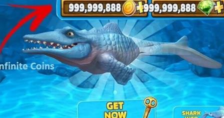 Hungry Shark Evolution Mod APK Infinite All