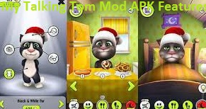 My Talking Tom Mod APK Features