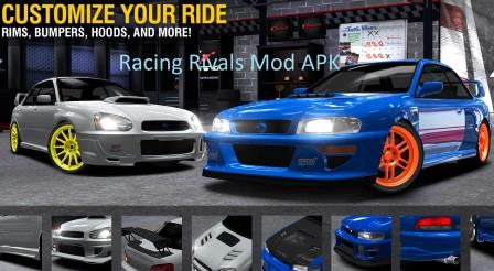 Racing Rivals Mod APK Android No Root