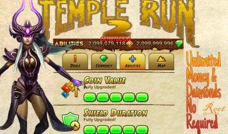 Temple Run 2 Mod APK Unlimited Gems And Coins