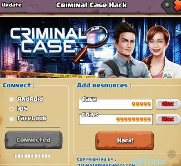 Criminal Case Mod APK Features