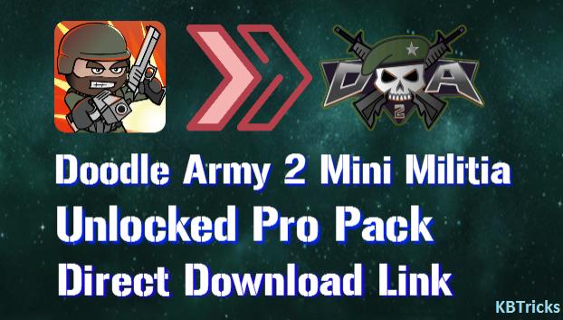 DA2: Mini Militia Mod APK Download | Unlimited Ammo, Nitro