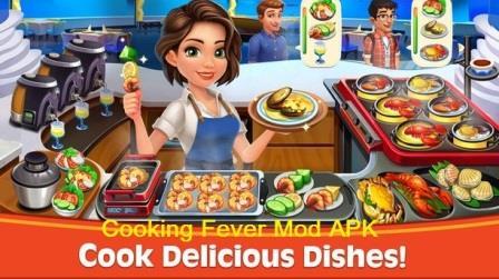Cooking Fever Mod APK Gameplay