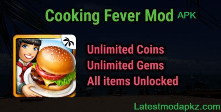 Cooking Fever Mod APK Unlimited All