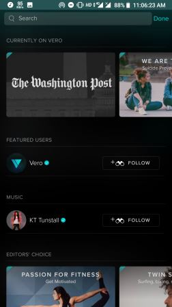 Download Vero App